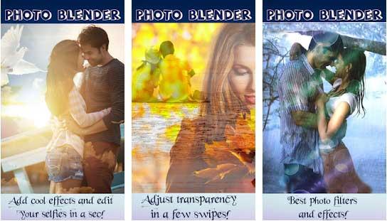 Photo Blender Editing Effect