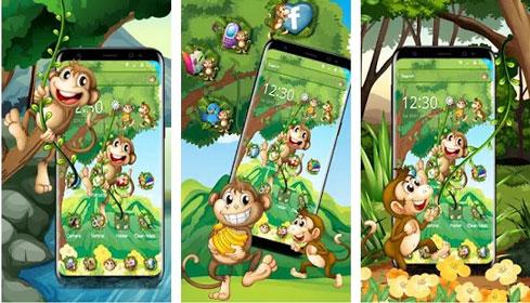 Tema Monyet Kartun Lucu
