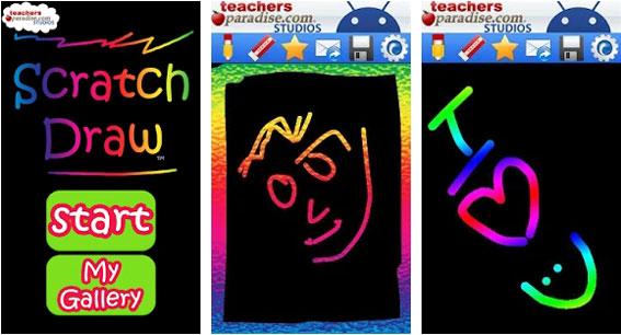 Scratch Draw Art Game