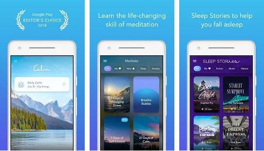 Calm – Mediate, Sleep, Relax