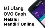Cara Top Up OVO Melalui Mandiri Online