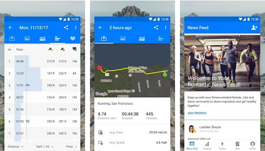 Runtastic Running App & Mile Tracker