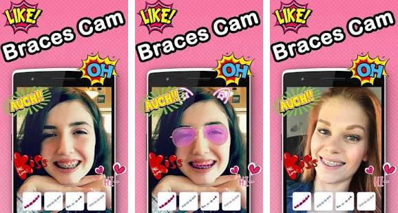 Behel Camera Selfie Cantik