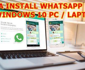 whatsapp pc for windows 10