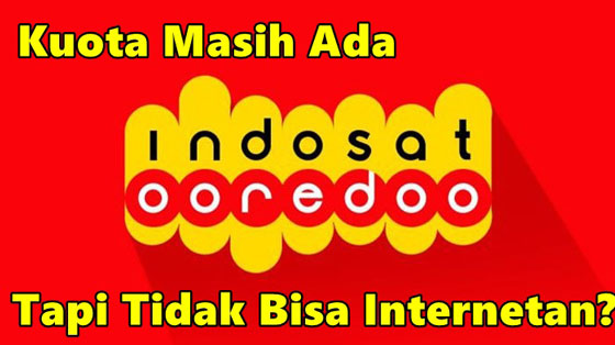 Kuota Masih Ada Tapi Tidak Bisa Internetan Indosat