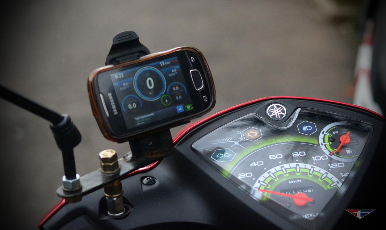 Aplikasi Speedometer Buat Ukur RPM Kecepatan Motor
