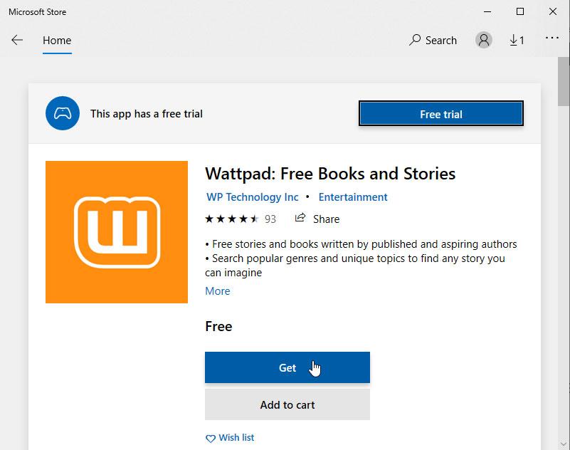 Cara Download Wattpad di PC