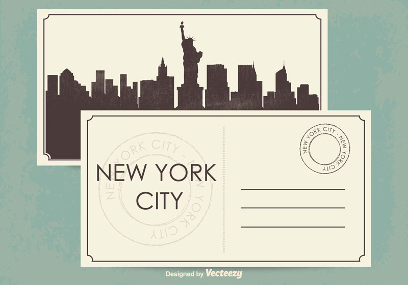 Standar Ukuran Postcard Amerika