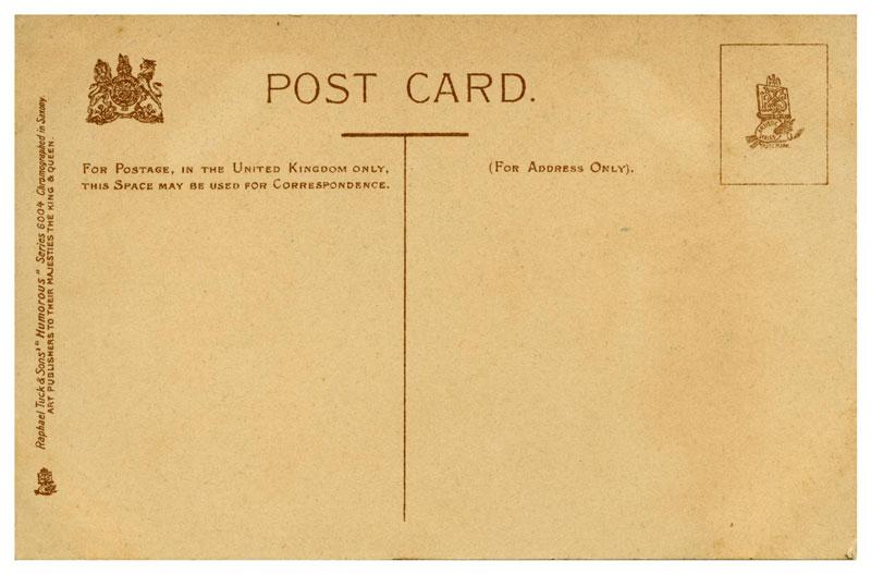 Standar Ukuran Postcard Old British