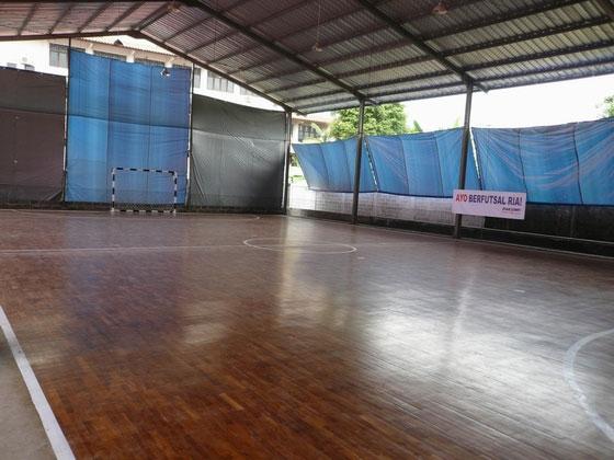 Lapangan Futsal Jenis Parquet
