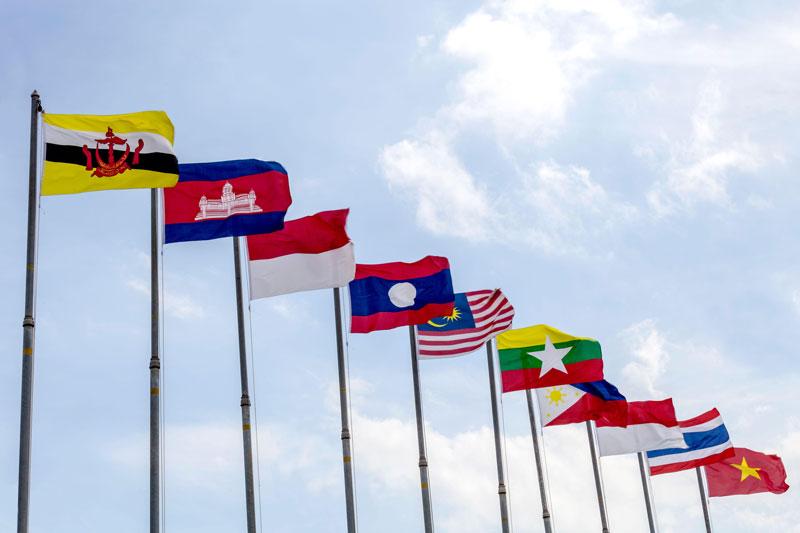 Negara-Negara Anggota Organisasi Besar ASEAN