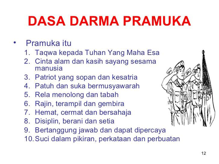 Dasa Darma Pramuka