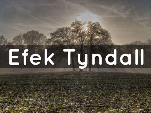 Efek Tyndall