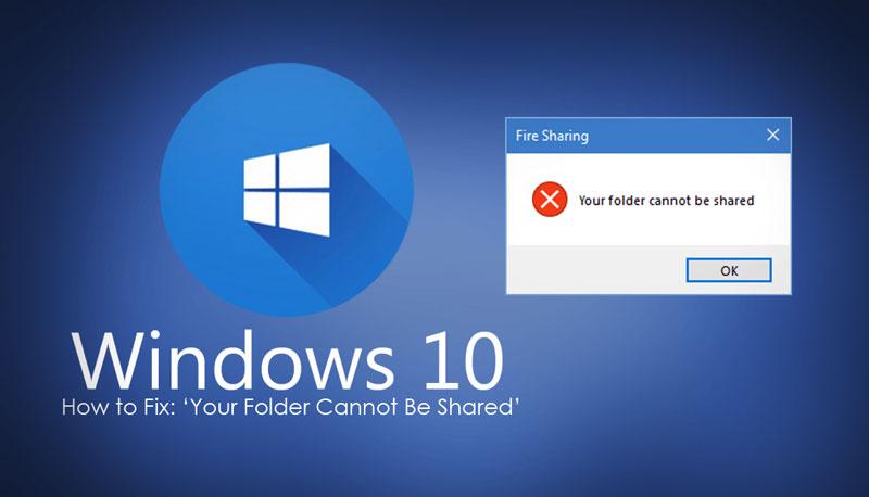 Cara Mengatasi Windows 10 Tidak Bisa Sharing Folder / File
